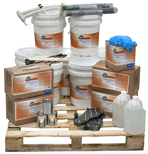What you need for do it yourself floor coating
