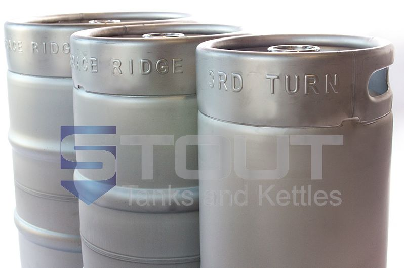 New Reduced Keg Prices And Stout Tanks Kettles Offers Quick Turn Embossing Stock Kegs Can Be Quickly Embossed With Your Brewery Name