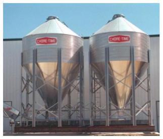 Alpha Brewery Silos