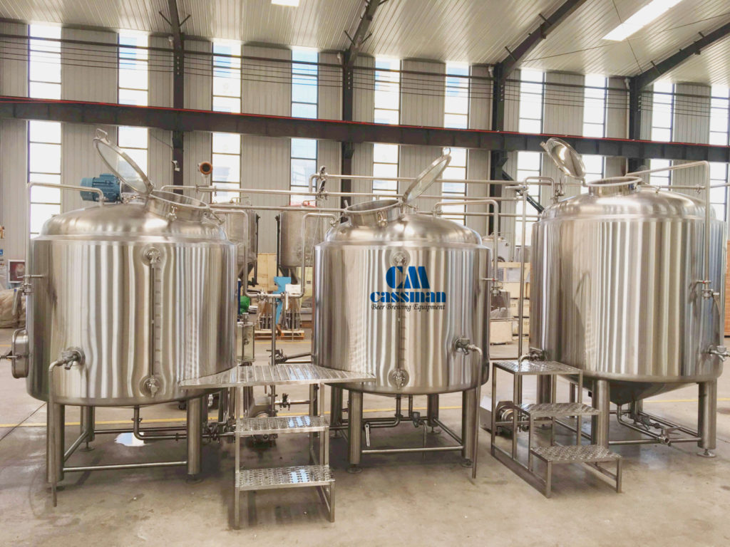 Complete 5 bbl-40 bbl brewery with reasonable price and good quality