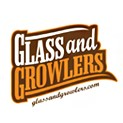 Glass & Growlers logo