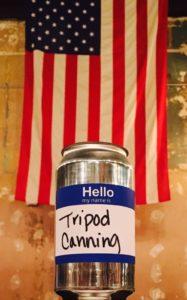 Tripod Canning logo