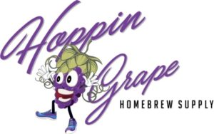 Hoppin' Grape Homebrew Supply logo